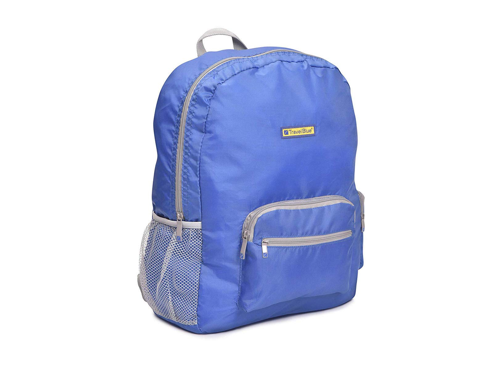 BACKPACK PLEGABLE GRANDE TRAVEL BLUE IMPERMEABLE AZUL YBK65A
